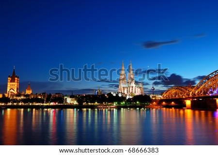 Cologne/Köln, Germany - stock photo