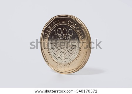 Colombia 1000 pesos coin