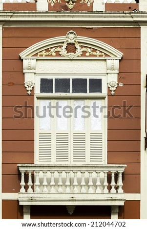 Colonial style in Recife, Pernambuco - stock photo