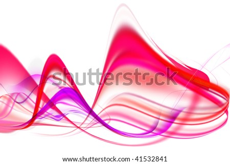 color abstract composition - stock photo