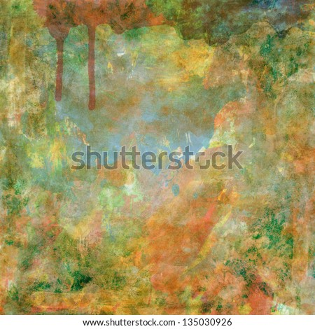 Color abstract grunge background, place for your text and design