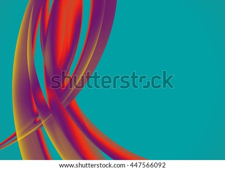 Color abstract template for card or banner. Metal Background with waves and reflections. Business background, silver, illustration. Illustration of abstract background with a metallic element - stock photo