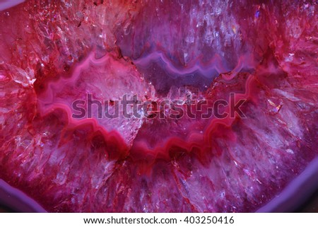 color agate mineral a snice natural background - stock photo