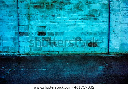 Color brick wall for background texture. Color art brick architecture background
