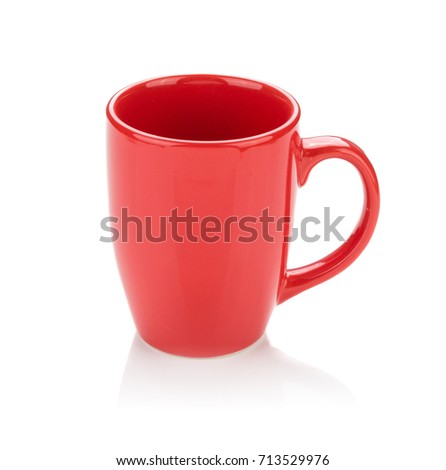Color ceramic cup