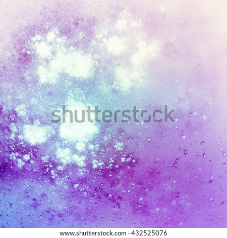 "Color chic background. Harmonious blurred backdrop. It creates a holiday mood, joy. Pastel abstract texture.The generated image effect ""watercolor splashes"""