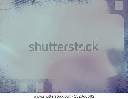 color dark grunge film background - stock photo