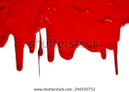 color flow, red - stock photo