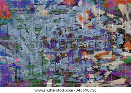 color grunge wall background