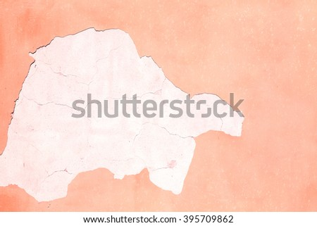 color  in europe italy old wall and antique contruction   yellow       color - stock photo