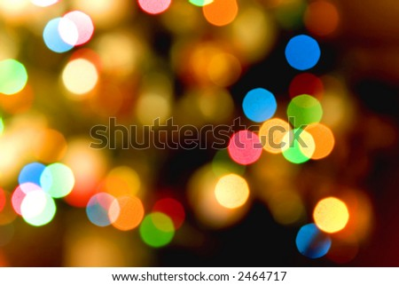 Color light blurred background, unfocused. - stock photo