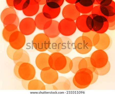 Color of cells,Particles in liquid. - stock photo