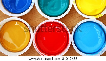 Color paint - stock photo