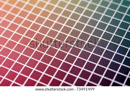 Color palette background - stock photo
