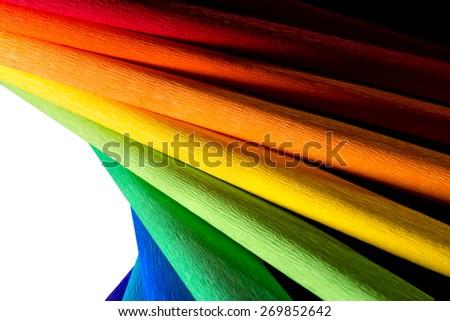 Color palette guide colorful wallpaper - stock photo
