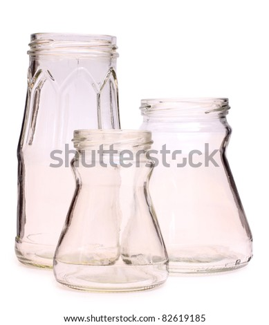 Color photograph of old glass bulb - stock photo