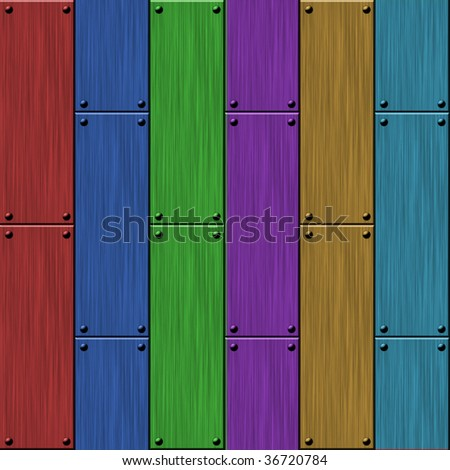 color planks background