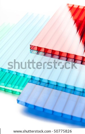Color Polycarbonate Sheets Stock Photo 50775826 - Shutterstock