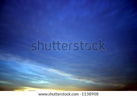 Color Sky - stock photo