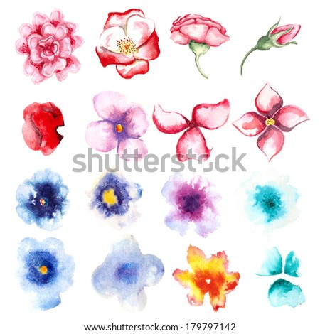 color, smell, element, design, decoration, pattern - stock photo