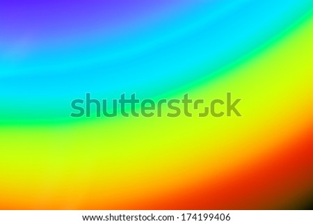 color spectrum blurry background