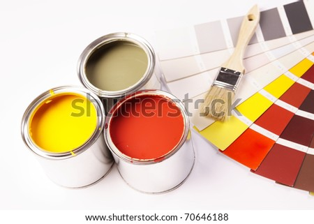 Color swatch! - stock photo