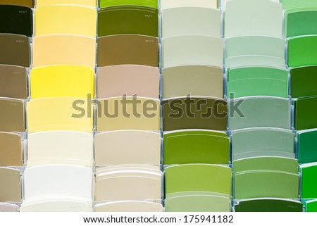 Color Swatches - stock photo