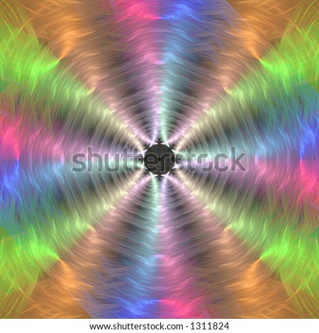 Color vibration - Background illustration with high detail