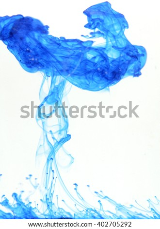 color water with ink