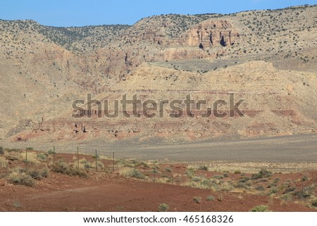 Colorado River Mountains in Arizona area parks