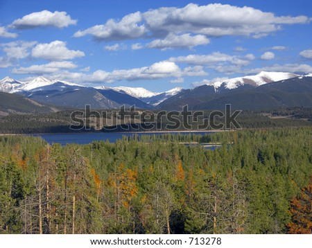 Colorado shows its colors - stock photo