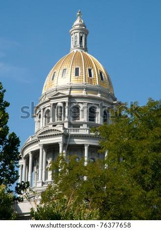 Colorado State Capitol Building - stock photo