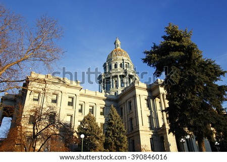 Colorado State Capitol Building in Denver