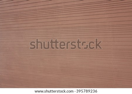 colored brown wall as background