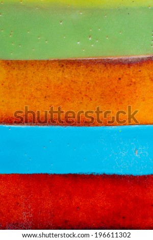 Colored jar background - stock photo