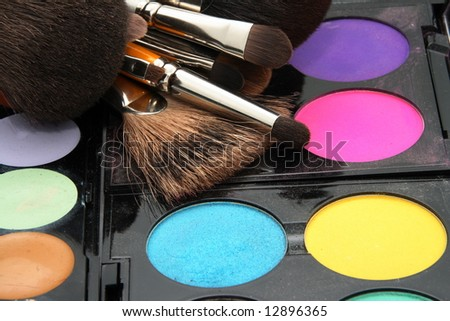 Colored make-up