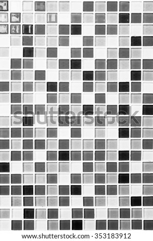 colored mosaic background tiles for bathroom