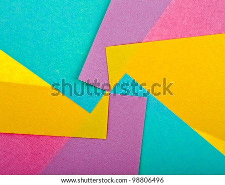 colored paper abstract texture  background - stock photo