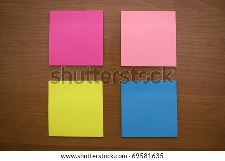 colored paper for records