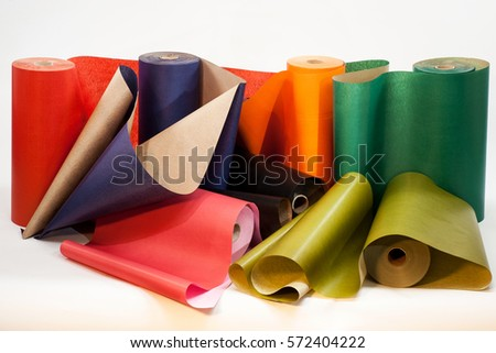 cardboard color paper pink roll stock photos royalty free images