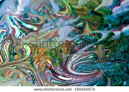 colored pattern - stock photo