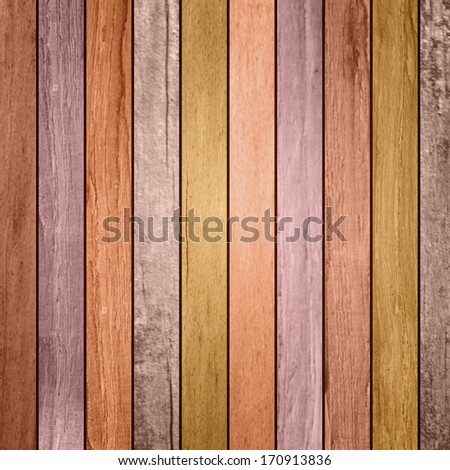 colored wood plank background