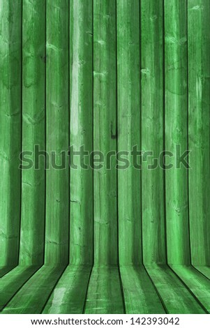 Colored wooden boards background