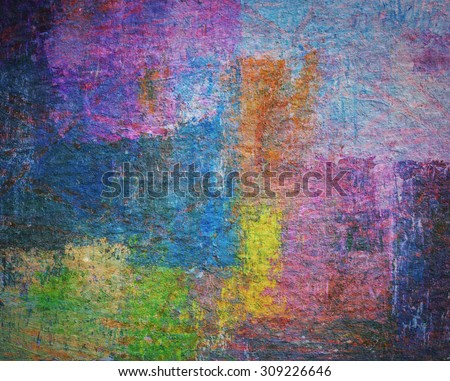 colorful abstract background, grunge texture design for text background - stock photo