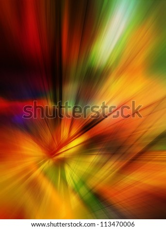Colorful abstract background in red, orange, green and yellow colors. - stock photo