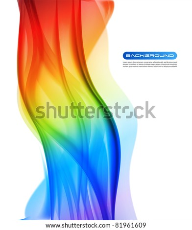 colorful abstract background - Raster version - stock photo