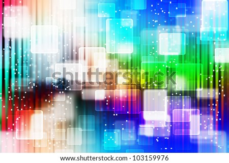 Colorful Abstract background with bokeh effect. - stock photo
