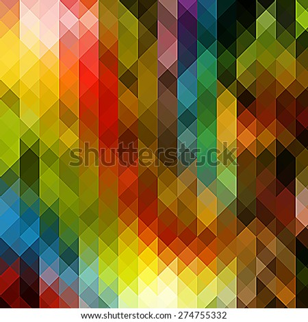 colorful Abstract background with triangle pattern