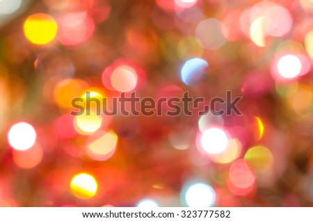 colorful abstract blurred lights background - stock photo