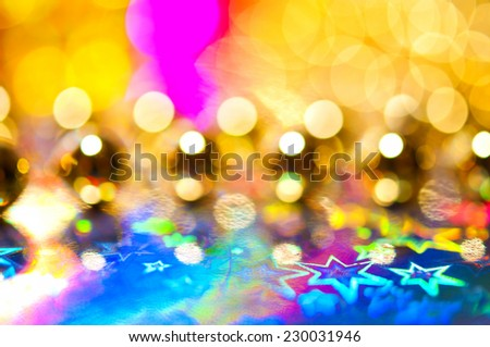Colorful abstract bokeh background - stock photo